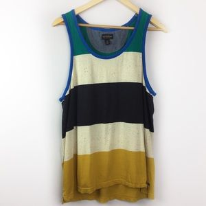 Urban Outfitters Shipmen Supply Striped Tank Top